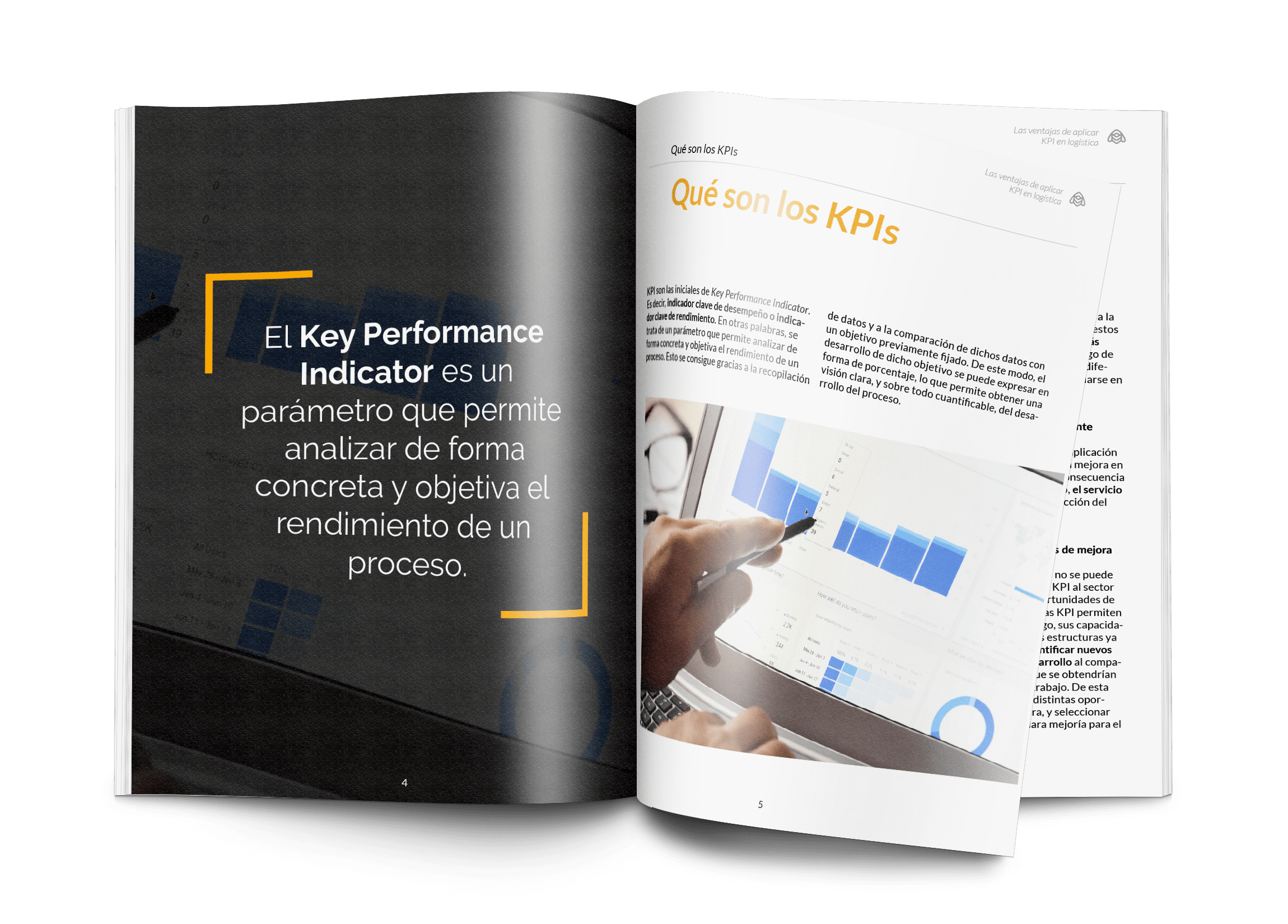 BEE - Ventajas de aplicar KPI en logística - Portada abierta (1)