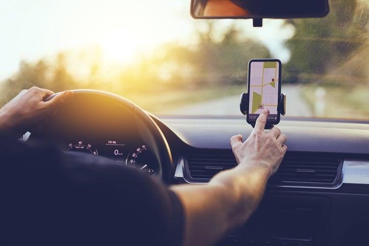 GPS vehicular servicio
