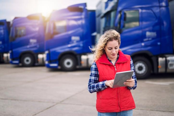 Logistica transporte terrestre