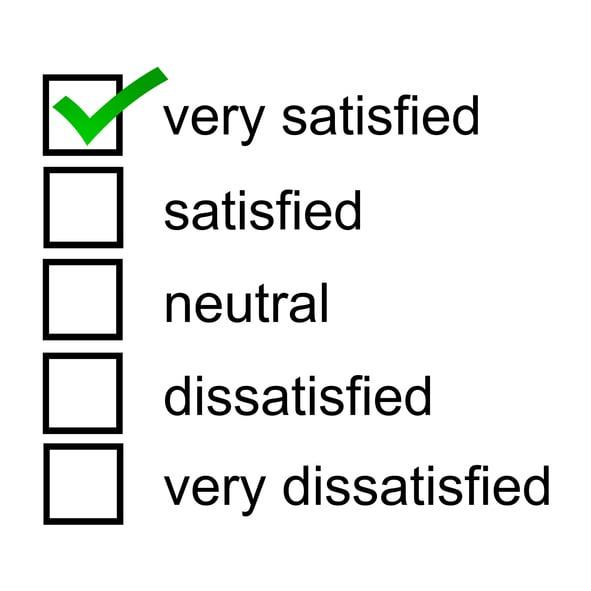 escala de Likert de satisfaccion de cliente