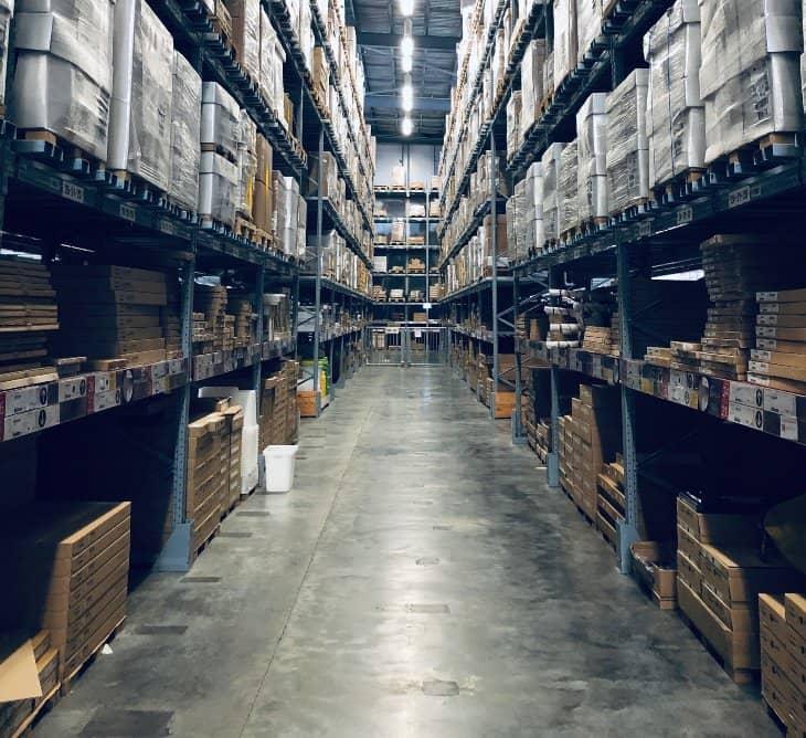 qué es rack logística