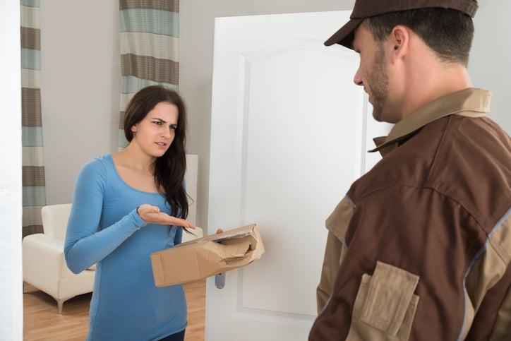 servicio de entrega a domicilio