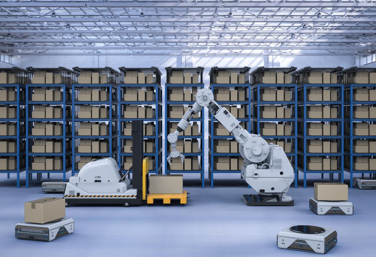 Aplicaciones de la robótica en el sector logístico